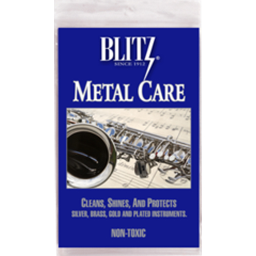 Blitz Metal Care Polishing Cloth for Musical Instruments by Blitz Jewelry Cleaners