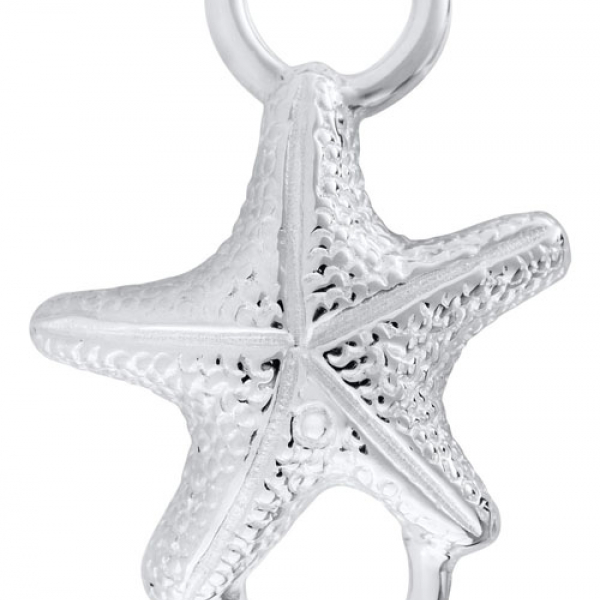 LeStage Sterling Silver Petite Starfish Clasp by LeStage