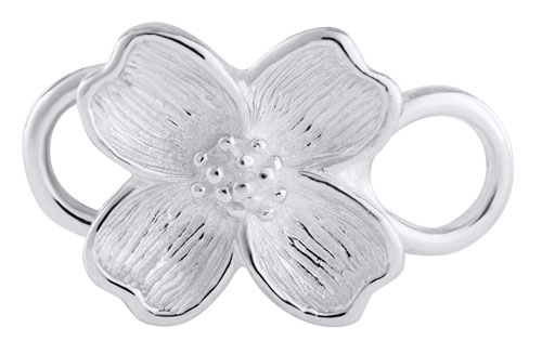 LeStage Sterling Silver Dogwood Clasp by LeStage